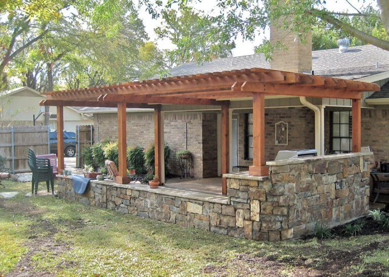 Outdoor Waco Hardscape & Gazebo with Landscape Design and Lawn Care