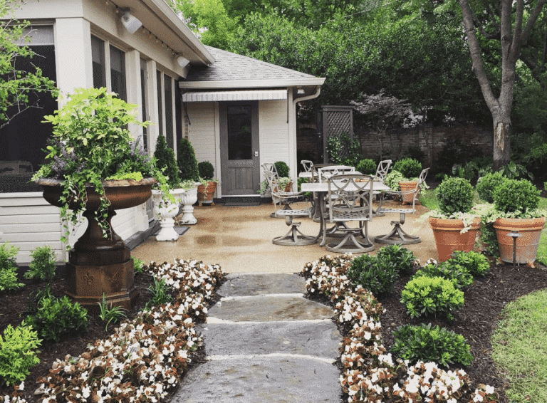 Backyard Landscaping in Waco Texas | Landscaping & Lawn Care services.