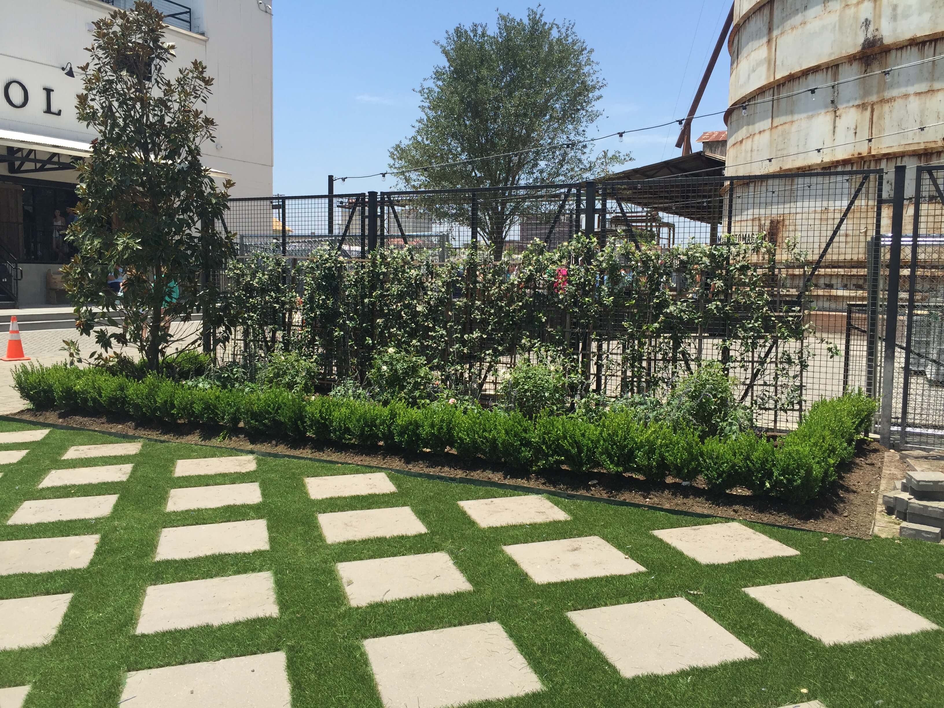 Landscaping Design at Magnolia Silos Waco Texas | Fitzgeralds Landscaping, Lawn Care, Irrigation, & Tree Services in Waco
